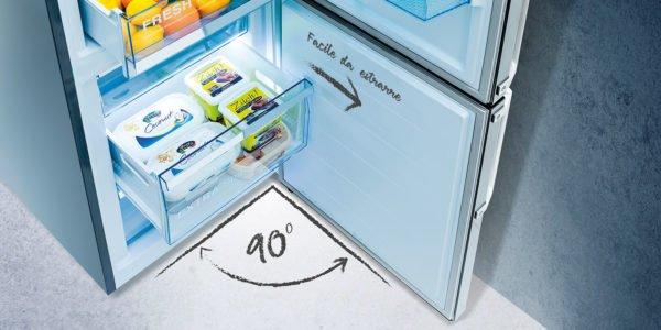 Hisense punta sul bianco con il nuovo frigorifero combinato 1