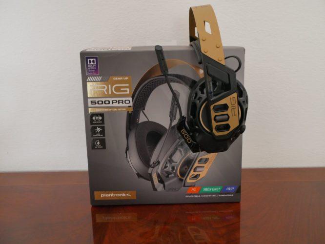 Recensione Plantronics RIG 500 PRO: Gioca con Dolby Atmos ad un ottimo prezzo 3