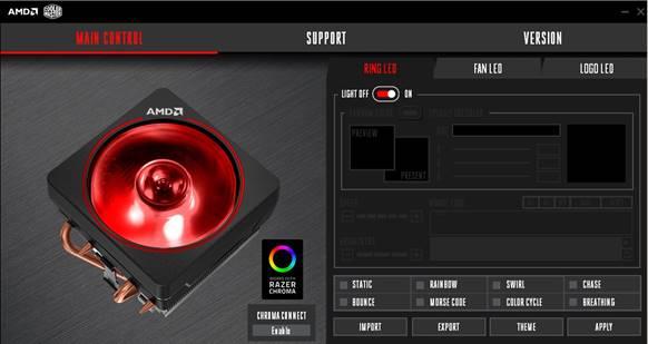 Illumina il tuo dissipatore AMD Wraith Prism con Razer Chroma 2