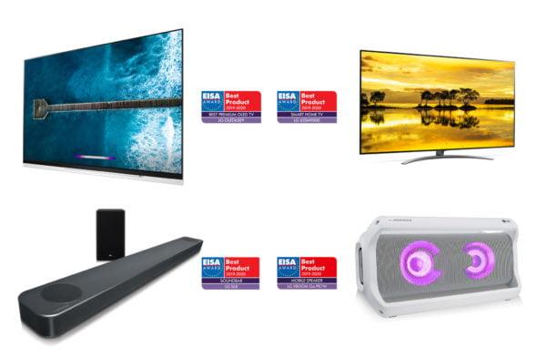 LG premiata agli EISA Awards per i prodotti di Home Entertainment 1