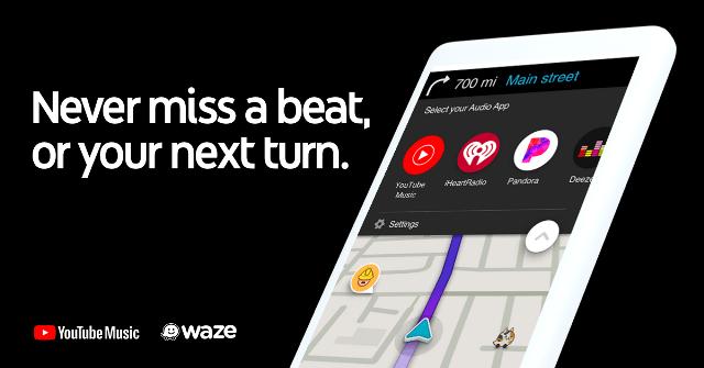 Waze annuncia l'integrazione di YouTube Music 1