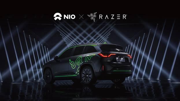 RAZER e NIO aprono la strada all'adozione dell'illuminazione Chroma RGB nei veicoli elettrici intelligenti 1