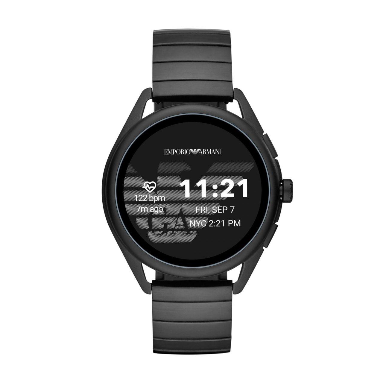 Emporio Armani svela la nuova generazione di smartwatch touchscreen 3