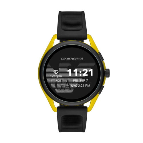 Emporio Armani svela la nuova generazione di smartwatch touchscreen 4