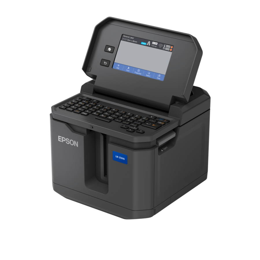 Epson presenta due nuove etichettatrici industriali compatte per stampare velocemente in grandi tirature 4