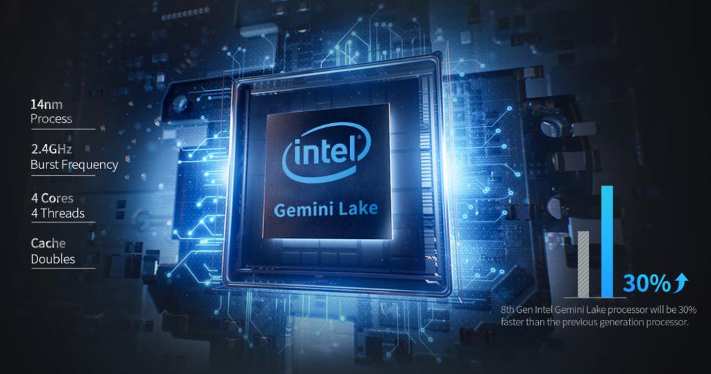 BMAX Y11 - Computer portatile Intel Gemini Lake N4100 a 360º da 11,6 pollici 5