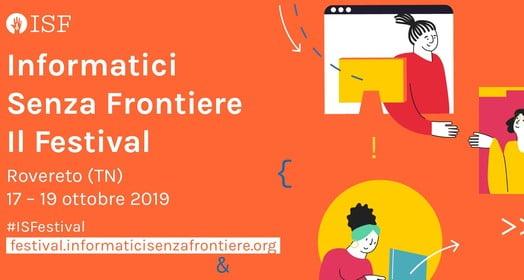 Annunciato il programma del Festival di Informatici Senza Frontiere 1