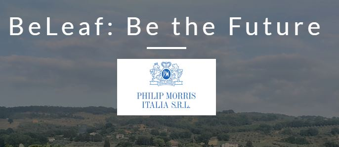 "Philip Morris Italia in collaborazione con Digital Magics lancia ""BeLeaf: Be The Future"". 1"