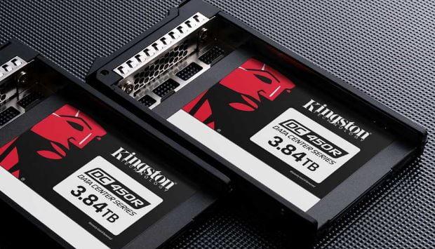 Kingston Technology presenta l'SSD enterprise Data Center 450R 1