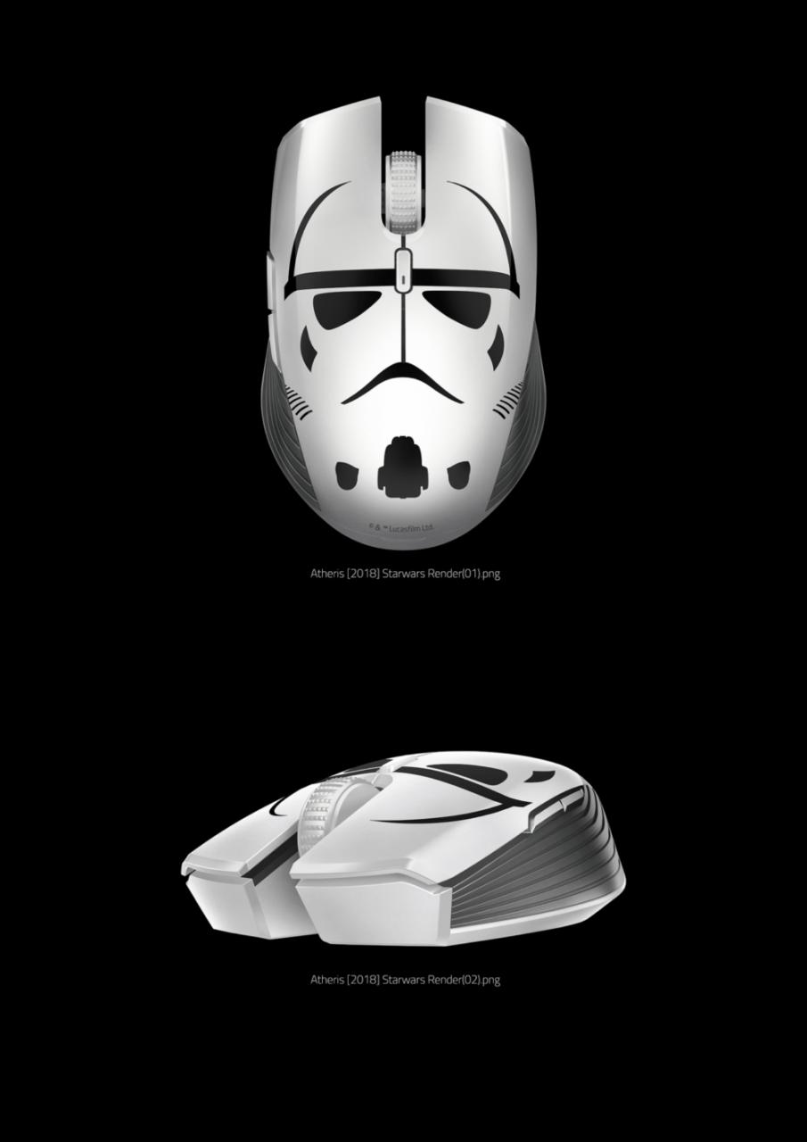 Mostra la tua fedeltà all'Impero Galattico con la Stormtrooper Edition delle cuffie Kraken 4