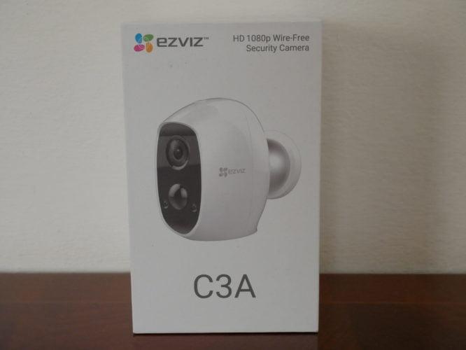 Recensione telecamera EVIZ di sicurezza C3A e la sua Base Station W2D 2