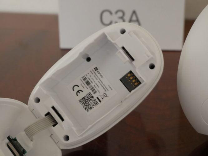 Recensione telecamera EVIZ di sicurezza C3A e la sua Base Station W2D 6