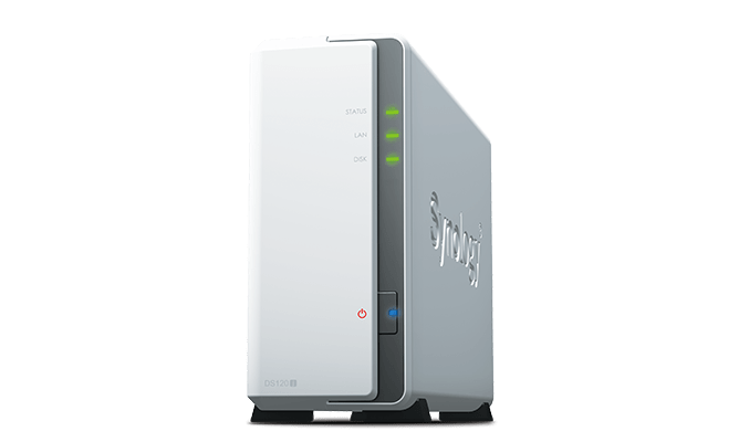 Synology® presenta DiskStation DS120j: il backup semplice dei dispositivi personali 1