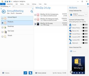 WinZip 24 ottimizza la produttività e le prestazioni per archiviare e condividere i file in sicurezza 3