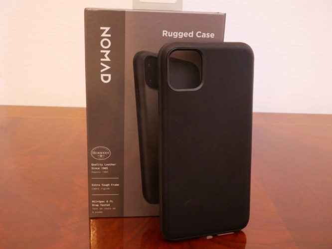 Recensione cover Rugged Nomad per iPhone Pro Max 9