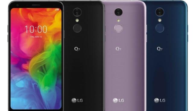 Nuovo aggiornamento Android Pie 9 per LG Q7 1