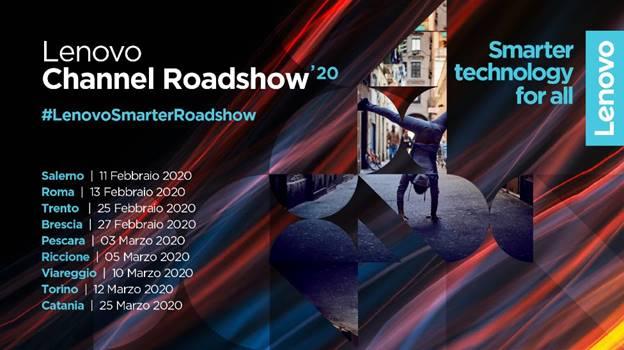 Lenovo Smarter Roadshow: da febbraio a marzo l'evento itinerante di Lenovo 1