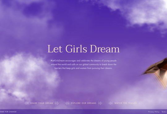 Chime for Change dà voce ai sogni con LOW 4