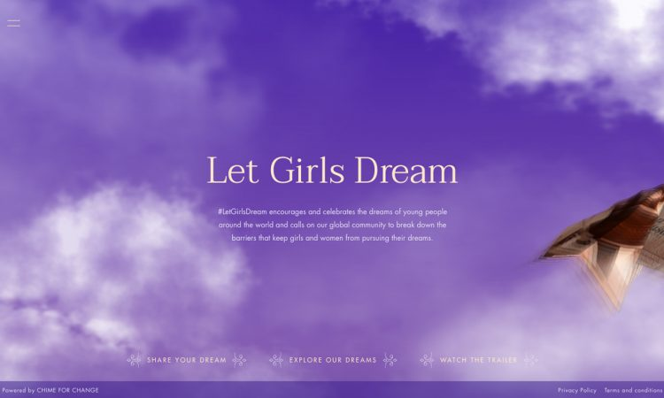 Chime for Change dà voce ai sogni con LOW 1