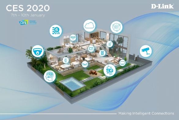 CES 2020: le connessioni intelligenti di D-Link 2