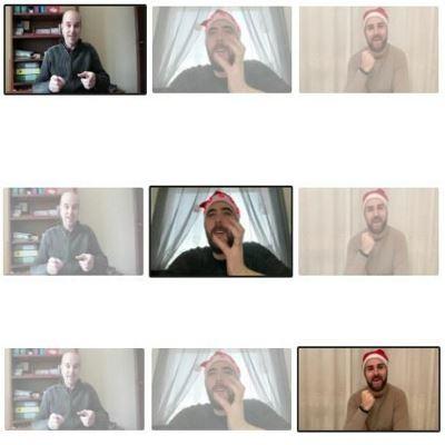 Il video messaggio di fine anno 1