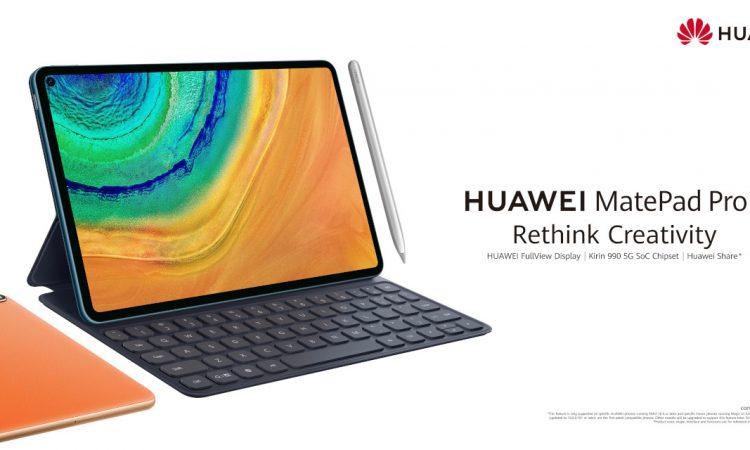 Huawei presenta HUAWEI MatePad Pro 1