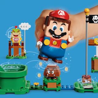 LEGO Group e Nintendo annunciano l'arrivo entro l'anno del nuovo LEGO Super Mario 3