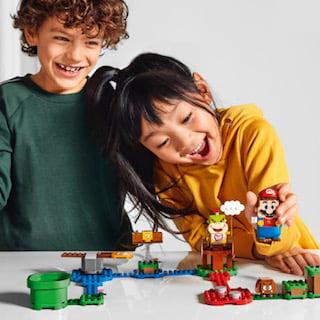 LEGO Group e Nintendo annunciano l'arrivo entro l'anno del nuovo LEGO Super Mario 2