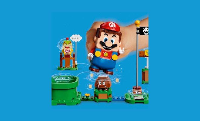 LEGO Group e Nintendo annunciano l'arrivo entro l'anno del nuovo LEGO Super Mario 1