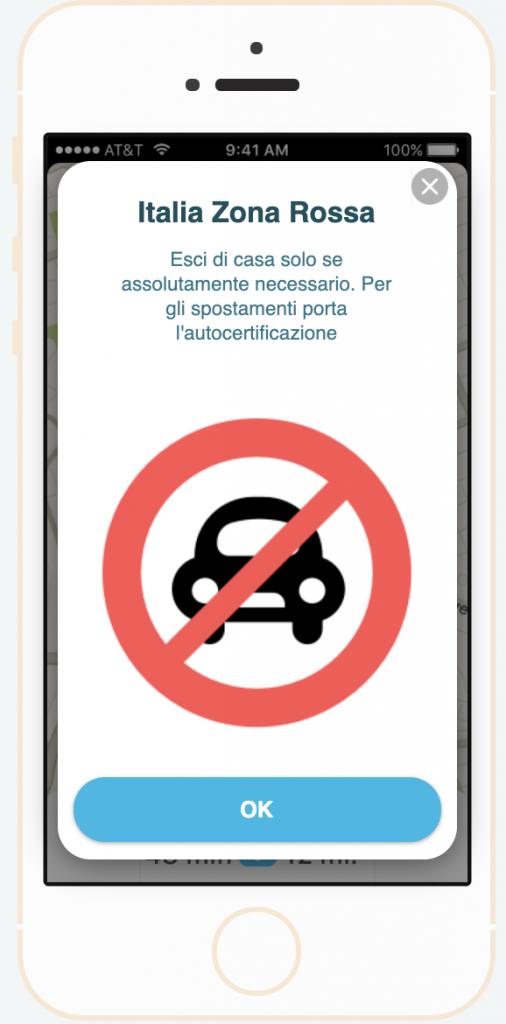 Waze invita con una nuova notifica tutti gli automobilisti a restare a casa 2