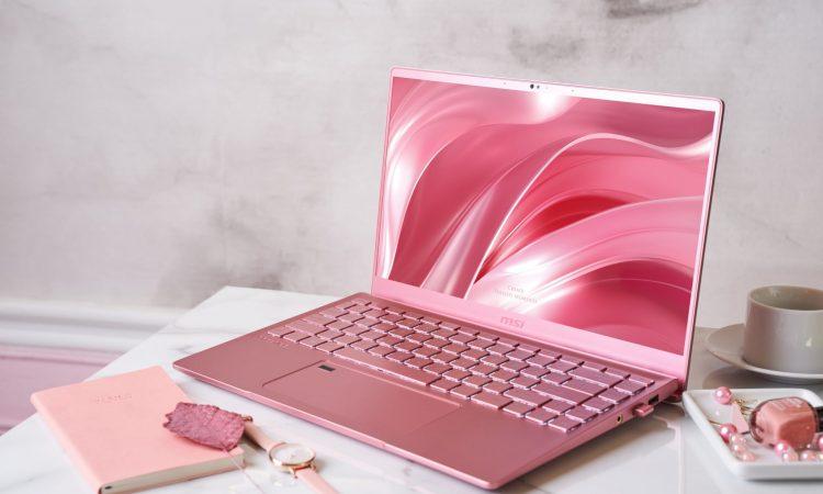 Arriva in Italia l'originale e raffinato MSI Prestige 14 Pink Rose 1