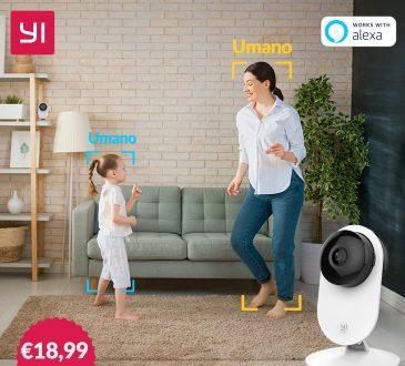 YI Home Camera 1080p: da Smart a INTELLIGENTE! 2