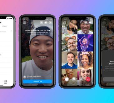 Facebook presenta Messenger Rooms per le videochiamate di gruppo 3